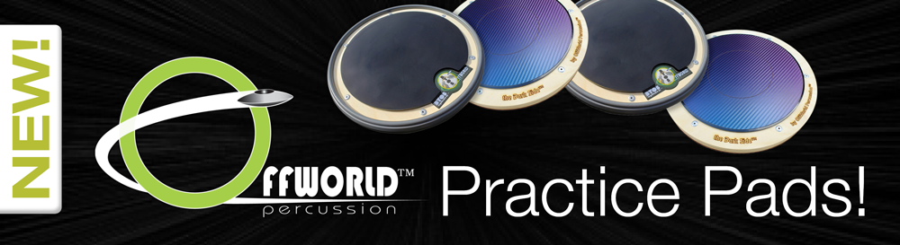 Offworld Percussion Practice Pads