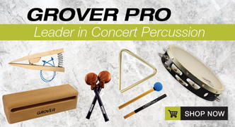 Shop Grover Pro Concert Hand Percussion Instruments!