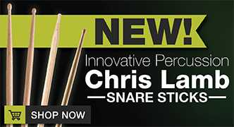 New Innovative Percussion Chris Lamb Laminated Snare Sticks