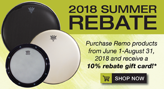 2018 Summer Rebates on Remo Products