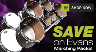 Save on Evans Marching Packs