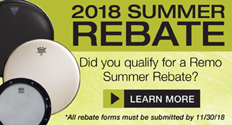 Don't forget your Remo/Sonor summer rebate form
