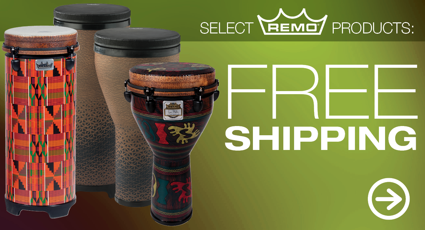 Free Shipping on Select Remo Products
