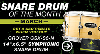 Snare Drum of The Month - March 2019