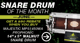 Snare Drum Of The Month