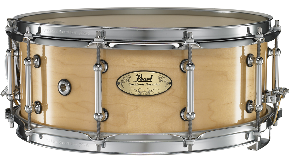 pearl concert crp1455 102 14x5 5 snare drum natural percussion source. Black Bedroom Furniture Sets. Home Design Ideas