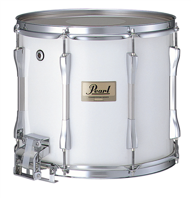 pearl competitor cms1309 c33 13 marching snare drum white percussion source. Black Bedroom Furniture Sets. Home Design Ideas