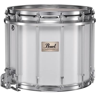 pearl competitor cmsx1412 c33 14x12 marching snare drum white percussion source. Black Bedroom Furniture Sets. Home Design Ideas