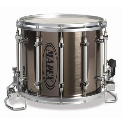 mapex quantum xt qcx1412s sw 14x12 marching snare drum white percussion source. Black Bedroom Furniture Sets. Home Design Ideas