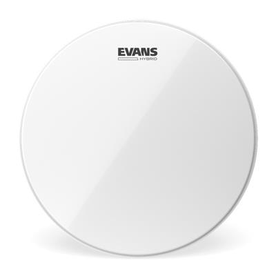 evans hybrid white sb13mhw 13 marching snare drum head percussion source. Black Bedroom Furniture Sets. Home Design Ideas